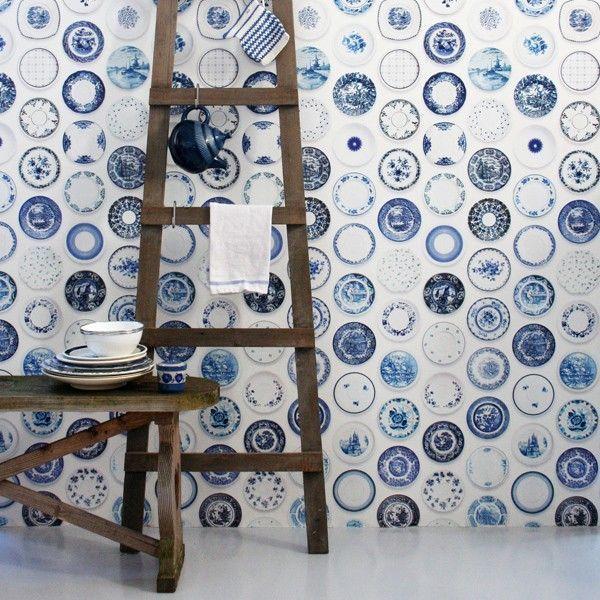 Studio Ditte Porselein behang