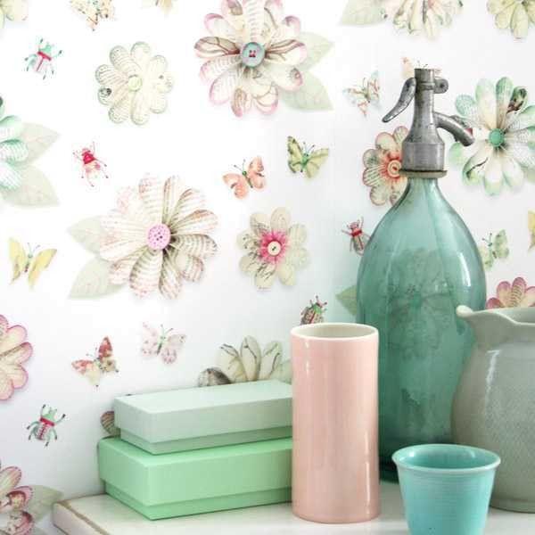 Studio Ditte Bloemen behang