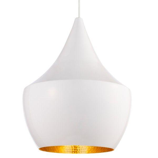 Tom Dixon Beat Light Fat hanglamp wit