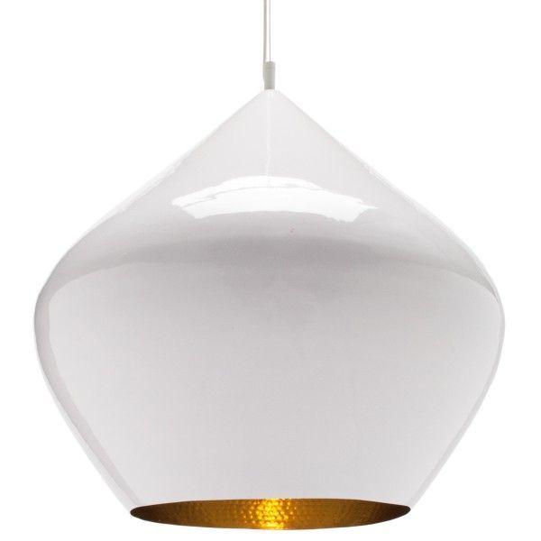Tom Dixon Beat Light Stout hanglamp wit