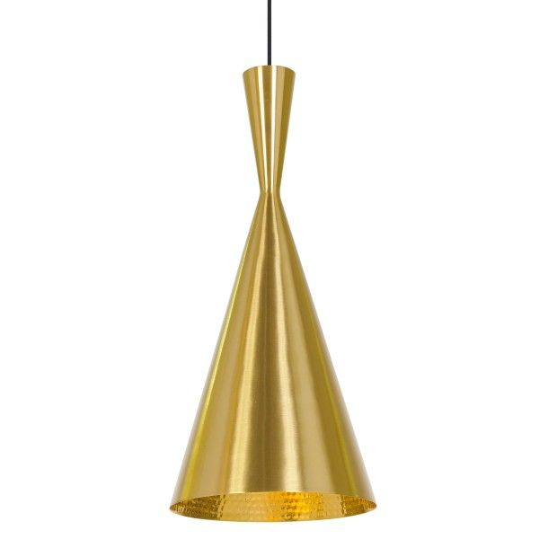 Tom Dixon Beat Light Tall hanglamp messing
