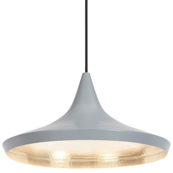 Tom Dixon Beat Light Wide hanglamp grijs