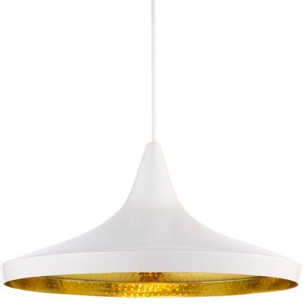 Tom Dixon Beat Light Wide hanglamp wit