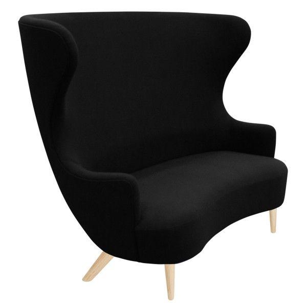 Tom Dixon Wingback Oak sofa