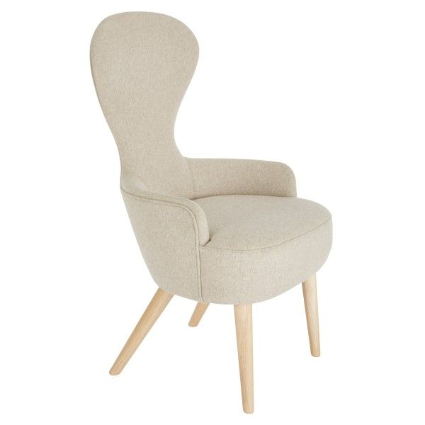 Tom Dixon Wingback Oak stoel