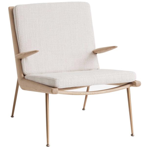 &tradition Boomerang HM2 fauteuil met arm eiken