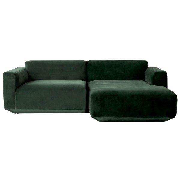 &tradition Develius bank 2-zits met chaise longue rechts