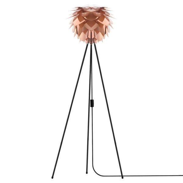 Umage Silvia mini vloerlamp met zwart onderstel