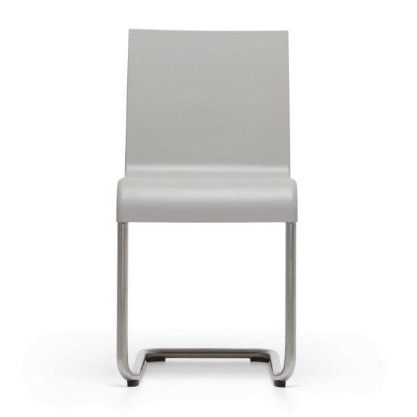 Vitra REFURBISHED .05 stoel stapelbaar grijs