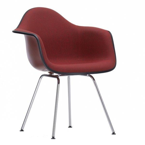 Vitra Eames DAX gestoffeerde stoel