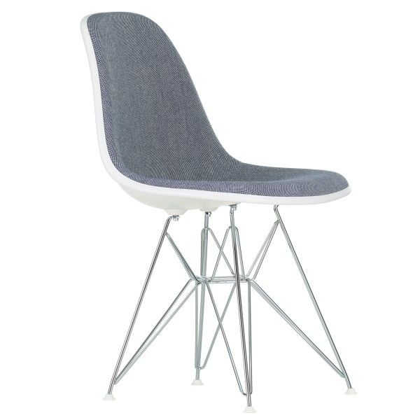 Vitra Eames DSR gestoffeerde stoel
