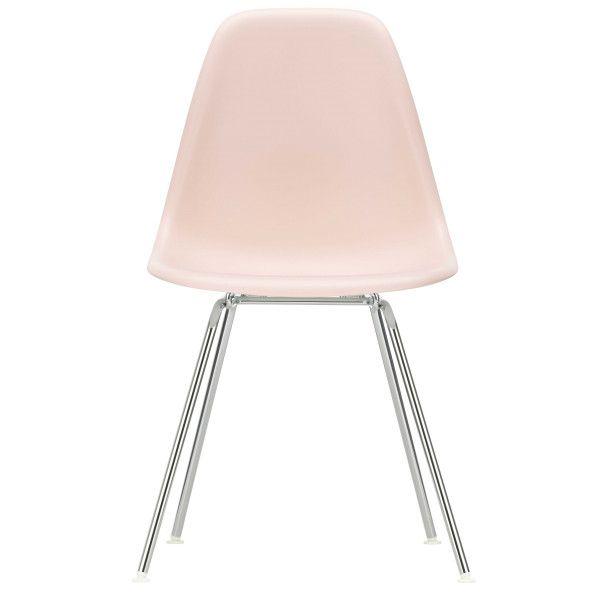 Vitra Eames DSX stoel verchroomd onderstel