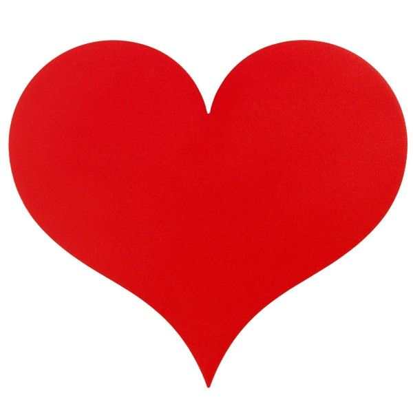 Vitra Little Heart wanddecoratie