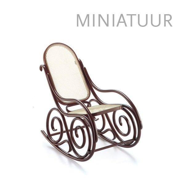 Vitra Schaukelsessel No. 9 miniatuur