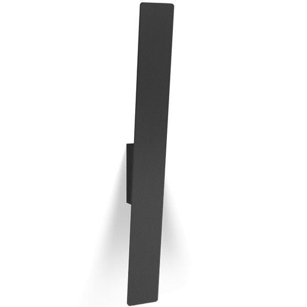 Wever Ducré Inch 5.4 wandlamp LED zwart 3000K