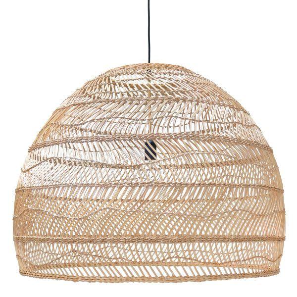 HKliving Wicker hanglamp large