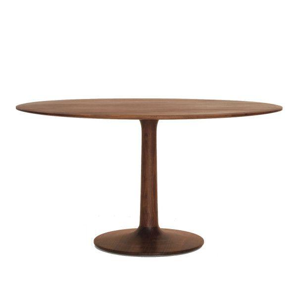 Zeitraum Turntable tafel 140 Amerikaans walnoten