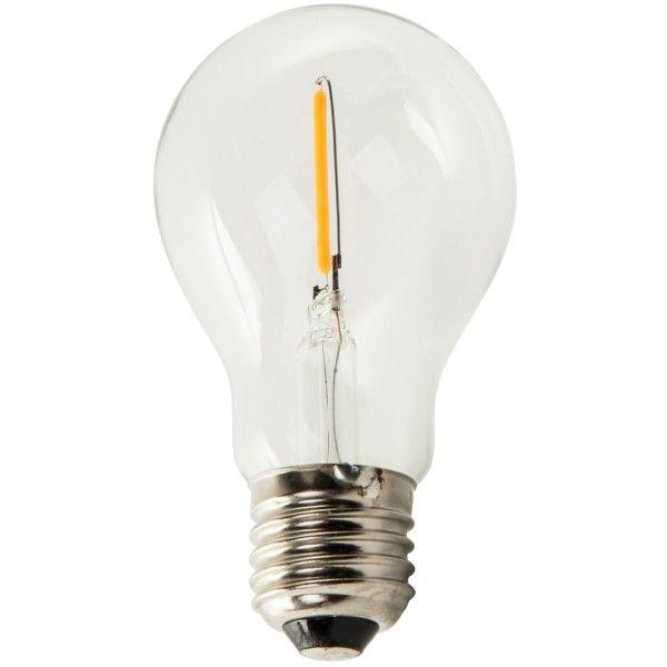Zuiver Classic E27 LED 1W 2700K lichtbron niet dimbaar