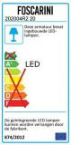 Foscarini Magneto vloerlamp LED