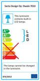 Secto Design Owalo 7010 vloerlamp LED