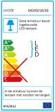 Lucide Madelon wandlamp LED 18W IP44