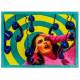 Seletti Phone vloerkleed 280x194