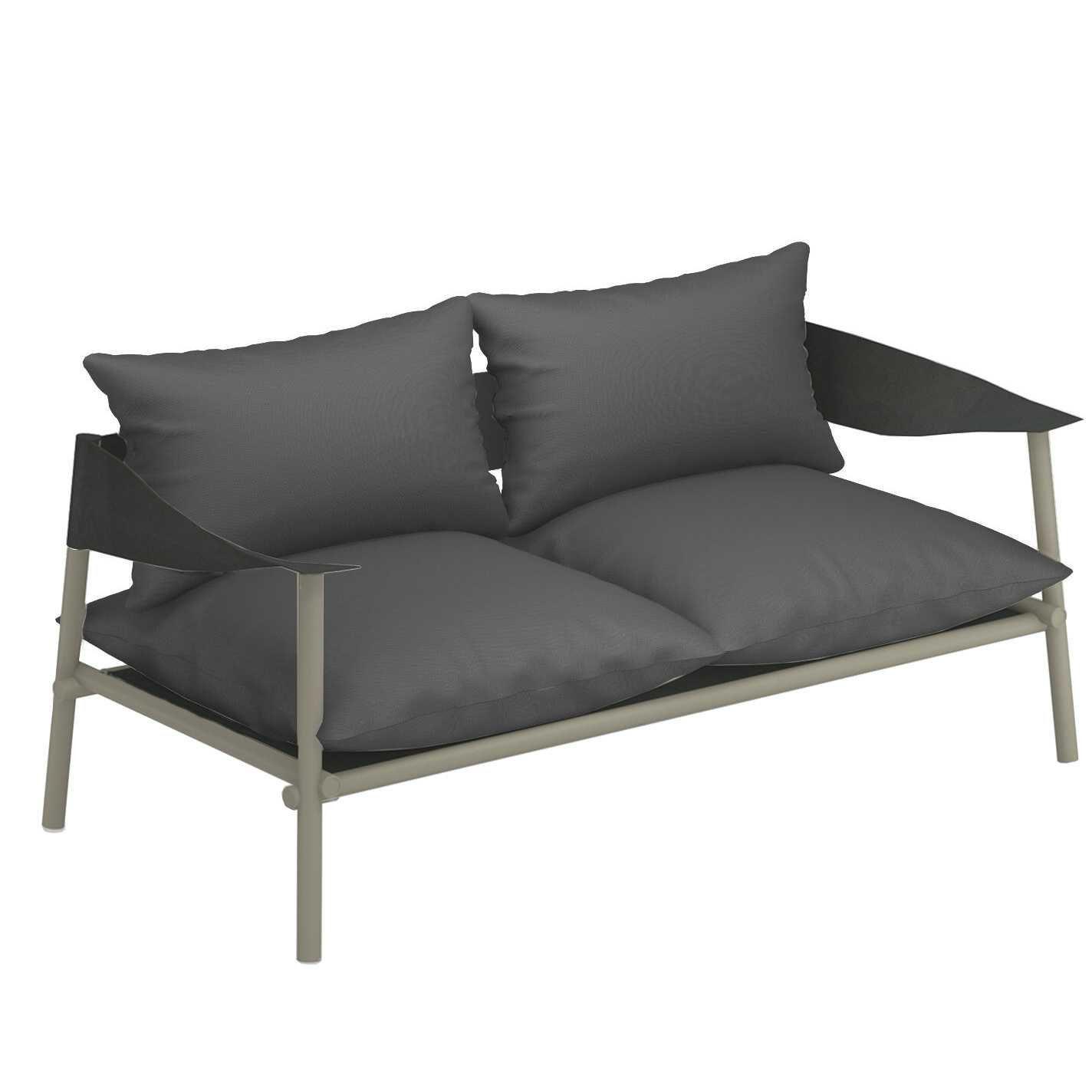 Lounge Bankje 2 Zits.Emu Terramare 2 Zits Loungebank Grijs Groen Flinders Verzendt Gratis