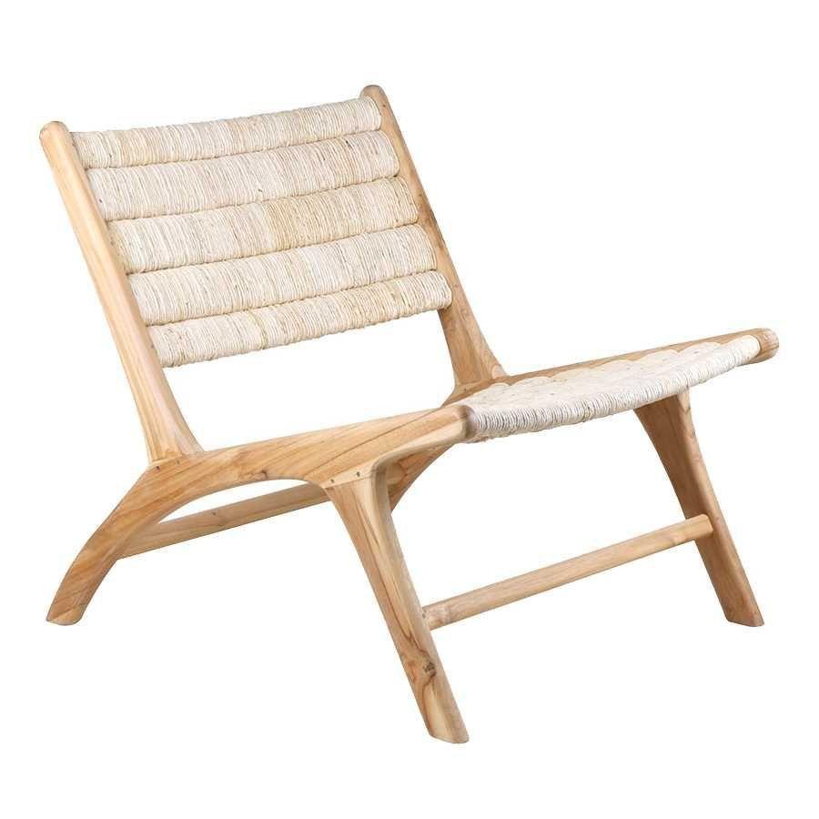 Lounge Stoel Gebruikt.Hkliving Abaca Lounge Chair Fauteuil Flinders Verzendt Gratis