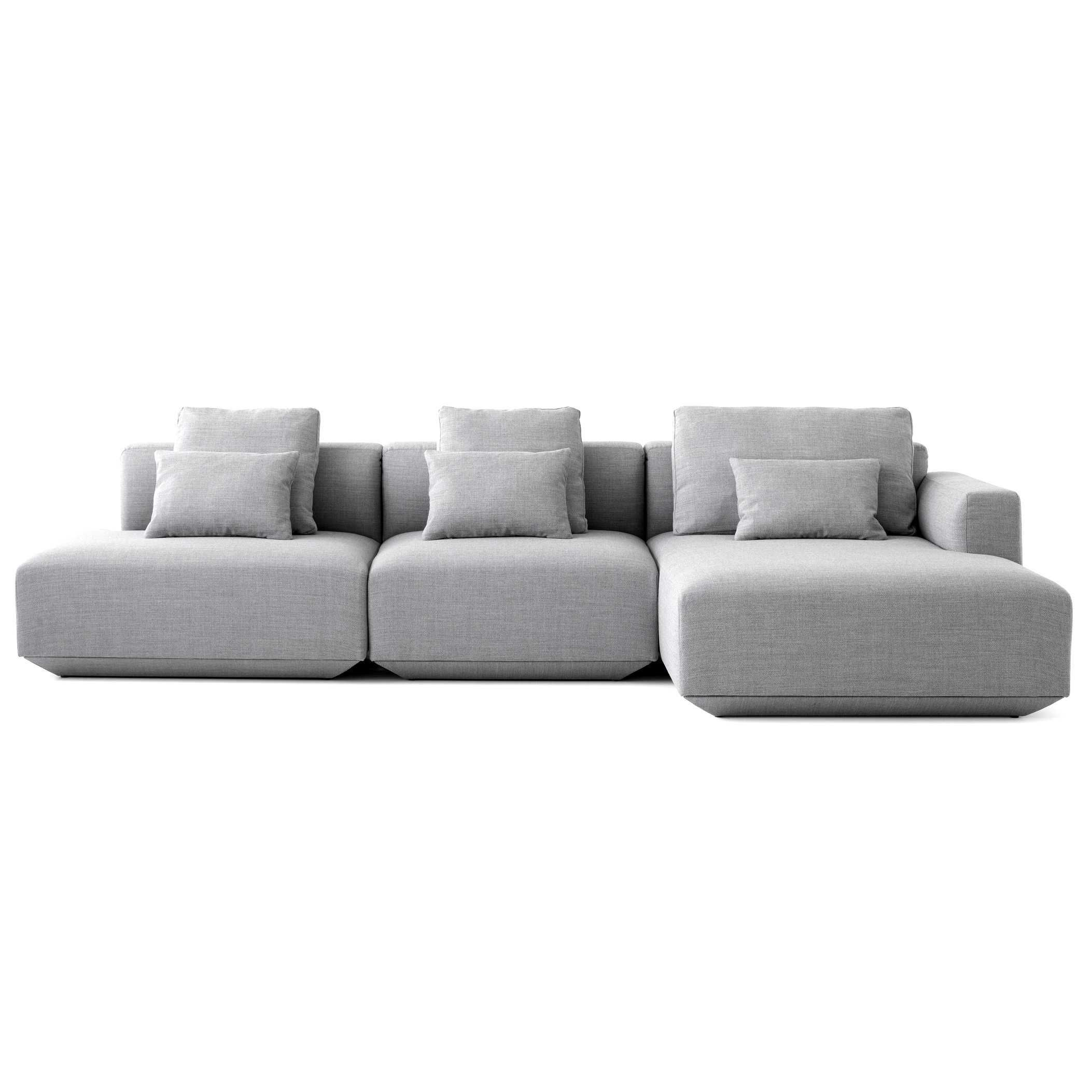 Design Bank Met Chaise Longue.Tradition Develius Bank 3 Zits Met Chaise Longue Rechts En Open