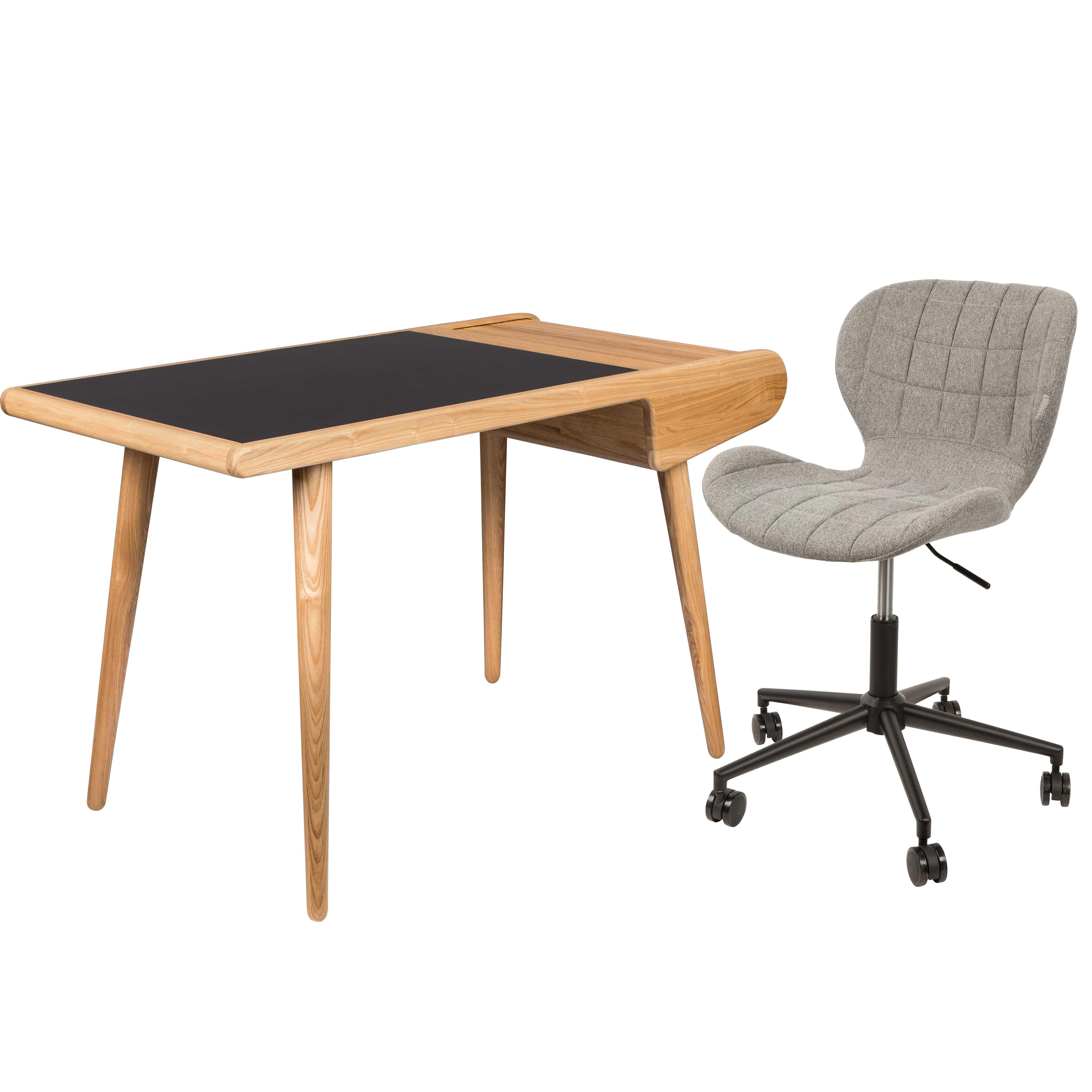 Zuiver Omg Bureaustoel.Flinders Thuiswerkplek 2 Barbier Desk Omg Bureaustoel