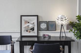 Umage Silvia Mini tafellamp met zwart onderstel
