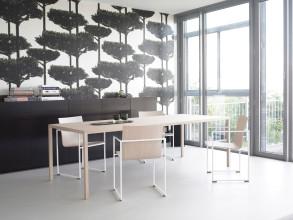 Arco Slim tafel fineer 240x90
