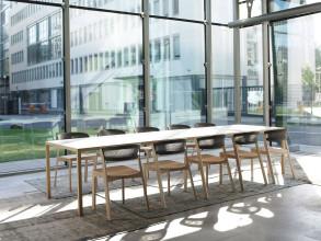 Arco Café Chair stoel white wax