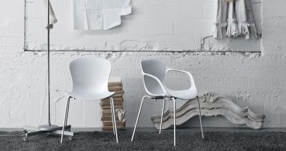 Fritz Hansen NAP Chair stoel met armleuningen