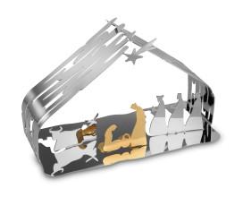 Alessi Bark Crib kerststal woondecoratie