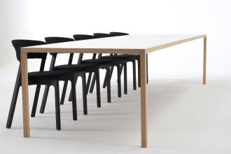 Arco Slim tafel fineer 160x90