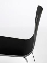 Arper Aava Sled stapelbare stoel