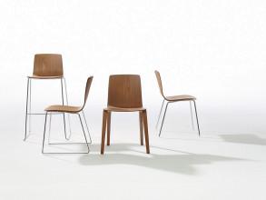 Arper Aava Tube stapelbare stoel