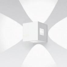 Artemide Effetto wandlamp LED 4 brede lichtstralen - lichtgrijs