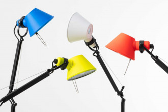 Artemide Tolomeo Micro bureaulamp bicolor