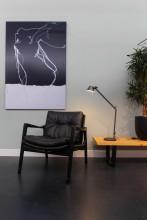 Artemide Tolomeo Midi bureaulamp LED met dimmer antraciet grijs