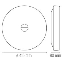 Flos Button wandlamp