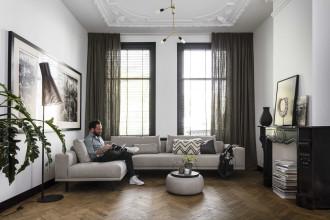 Design on Stock Cascade hoekbank met chaise longue