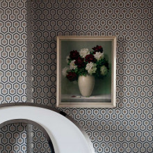 Cole & Son Hicks' Hexagon behang