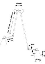 DCW éditions Lampe Gras N302 Double plafondlamp