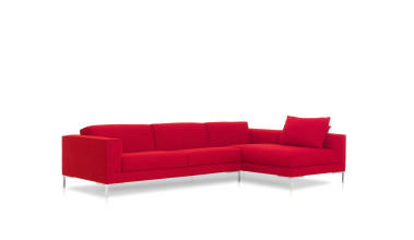 Design on Stock Aikon bank 3-zits 1 arm + chaise longue