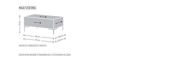 Design on Stock Bloq poef 97x65 cm