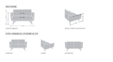 Design on Stock Byen Love Seat fauteuil