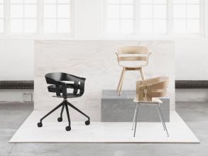 Design House Stockholm Wick Swivel stoel