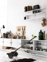 String Furniture Wandkast Large, grijs